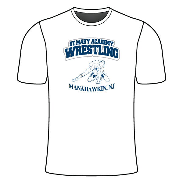 ST. MARY ACADEMY SEMI SUB SHIRT (TEXT)