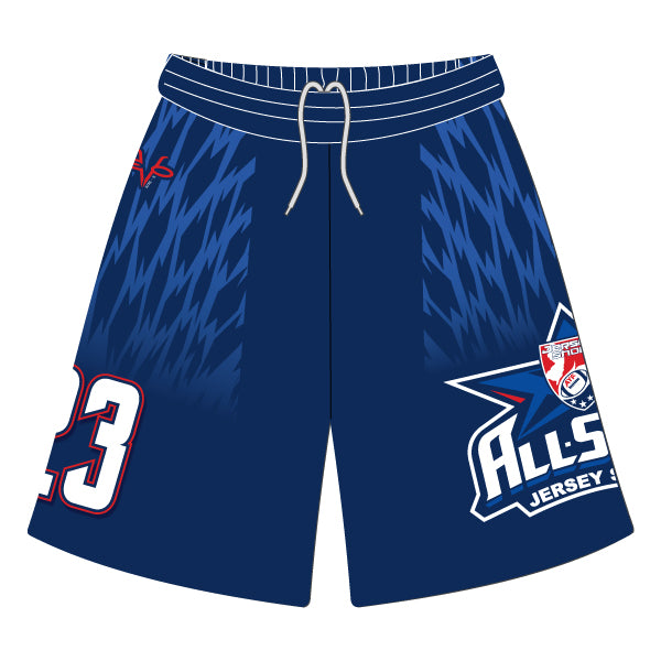 NJAYF ALL STAR SHORTS WITH POCKETS