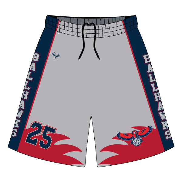 Evo9x DAVINCI BASKETBALL Full Dye Sublimated Shorts
