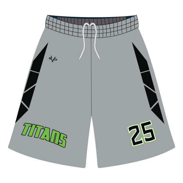 Evo9x TITANS Full Dye Sublimated Shorts