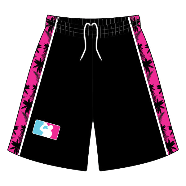 Evo9x DRINKING PROBLEM Full Dye Sublimated Shorts Black