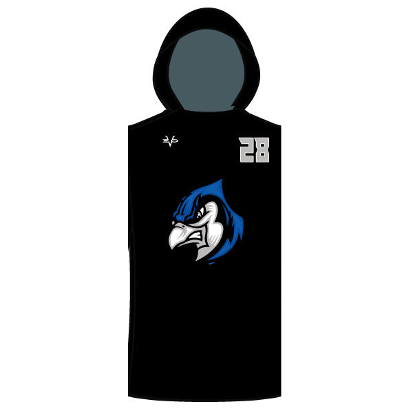 Evo9x BLUE JAYS Full Dye Sublimated Sleeveless Compression Hoodie