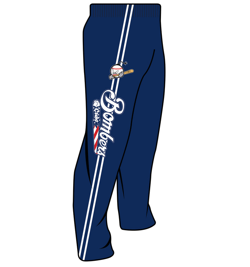SUBLIMATED SWEATPANTS BOMBERS