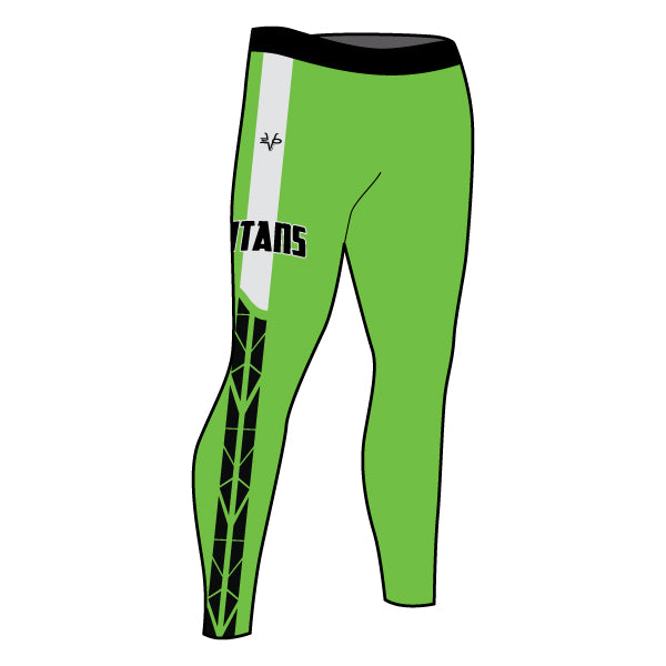 Evo9x TITANS Full Dye Sublimated Women's Tights
