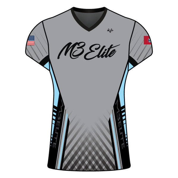 Evo9x M3 ELITE Full Dye Sublimated Women's Cap Sleeve Shirt