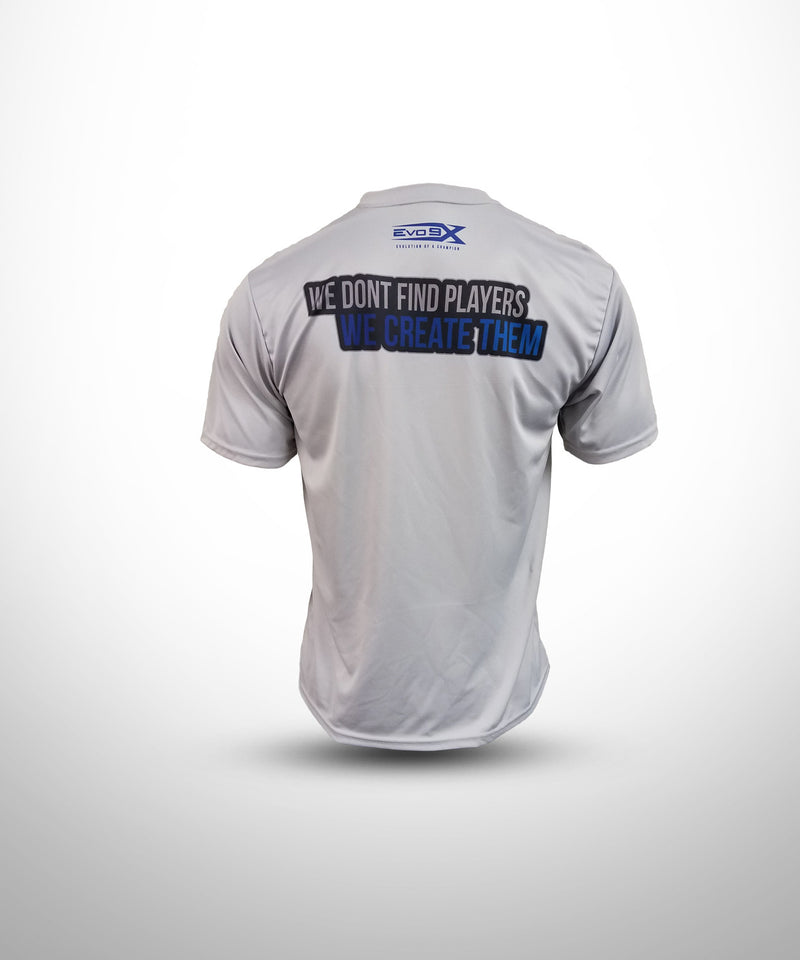 Semi Sublimated Short Sleeve Tee GRY YW BALLERS