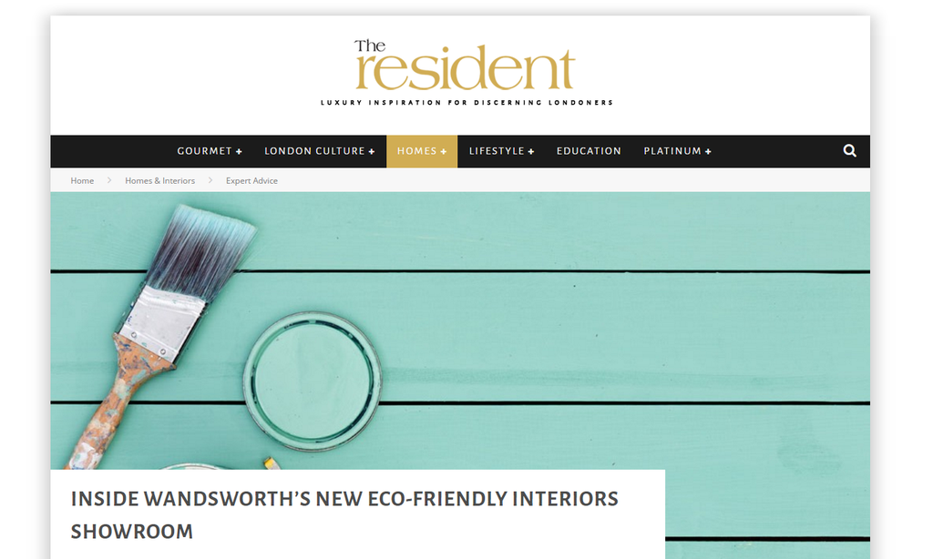 SW Resident Magazine introduces new eco-friendly interiors showroom