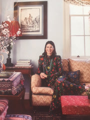 Nathalie Farman-Farma of Decors Barbares at home