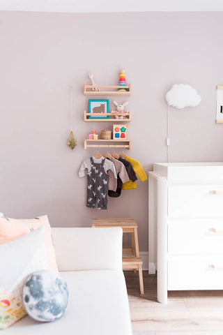 Franscesca Stone Fall for DIY uses Paint the Town Green for nursery makeover