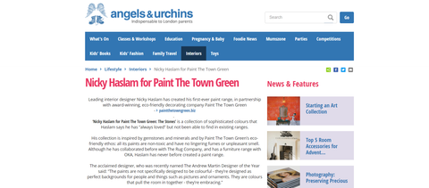 Angels and Urchins feature on Paint The Town Green