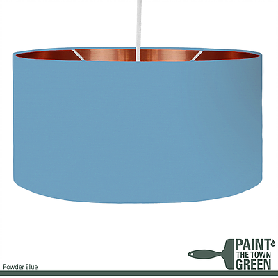 Powder Blue Lampshade