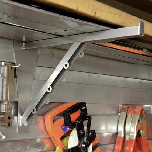 Heavy-Duty Shelf Bracket - Z-OX Slatwall Solutions