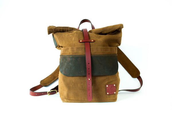 Harland Rolltop Backpack -  - 1