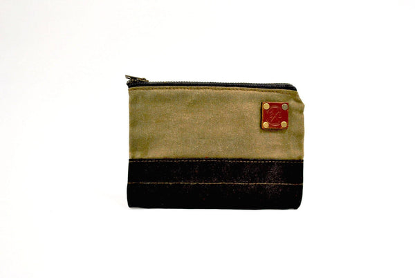 Small Zipper Bag Grey -