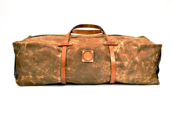 The Hudson Waxed Canvas Duffle Bag -  - 1