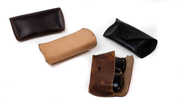 The Ready Clasp Sunglasses Case Brown (Seahawk Chromexcel)