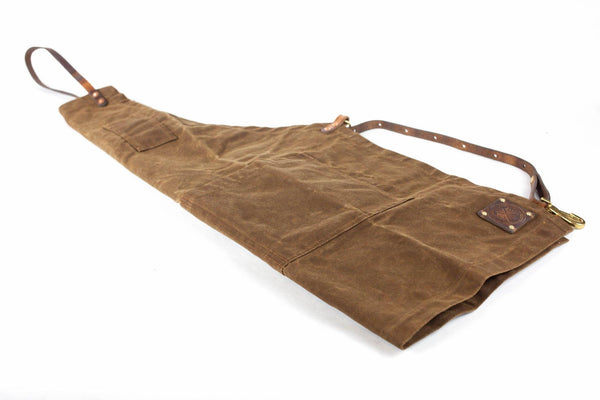 The Charles Waxed Canvas Apron Special Edition (Nutmeg/ Nutmeg)