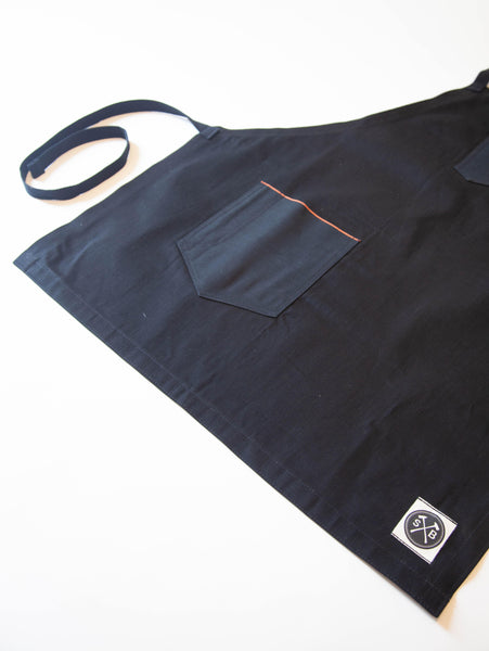 The Jack Selvedge Apron (Black)