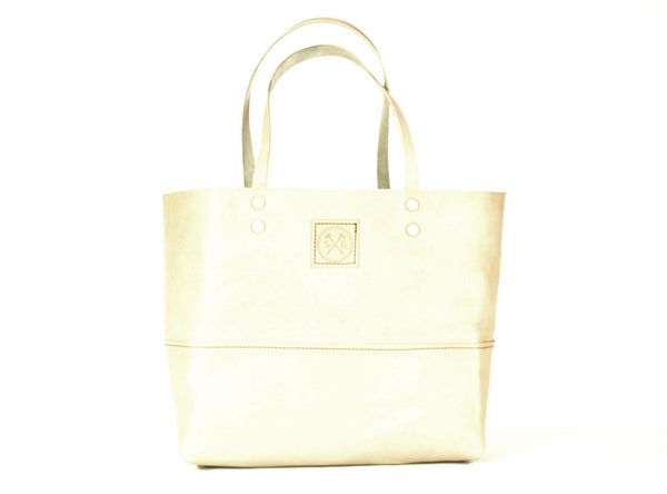 The Paxton Large Leather Tote in Natural -  - 1