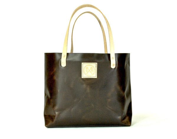 The Paxton Small Horween Leather Tote -  - 1