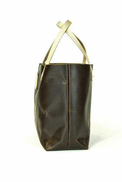 The Paxton Small Horween Leather Tote -  - 2