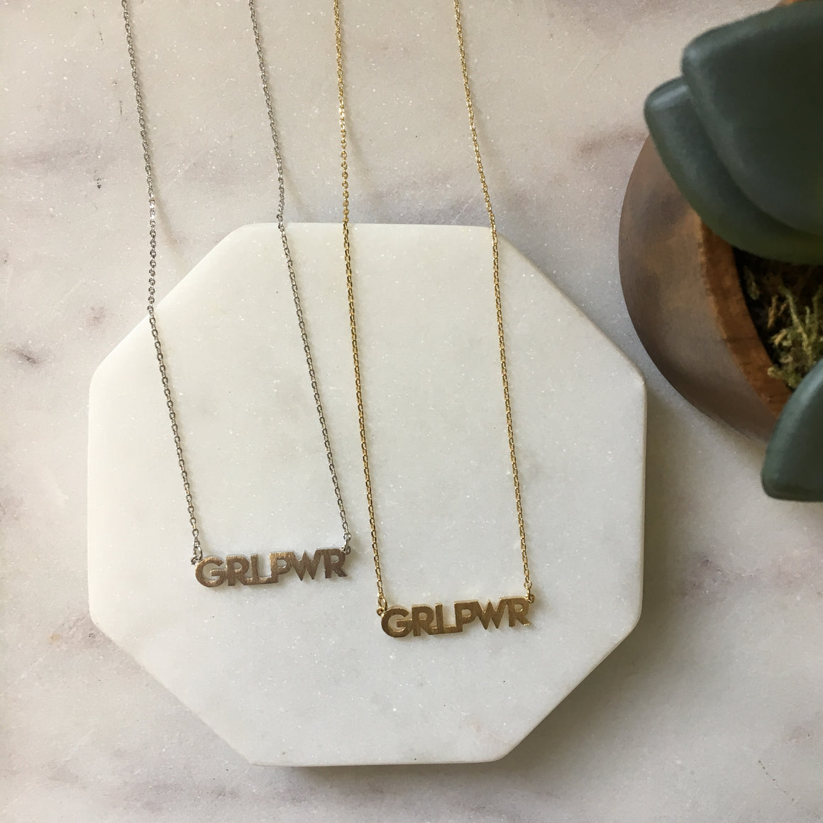 Girl Power Necklace - pretty-simple-2