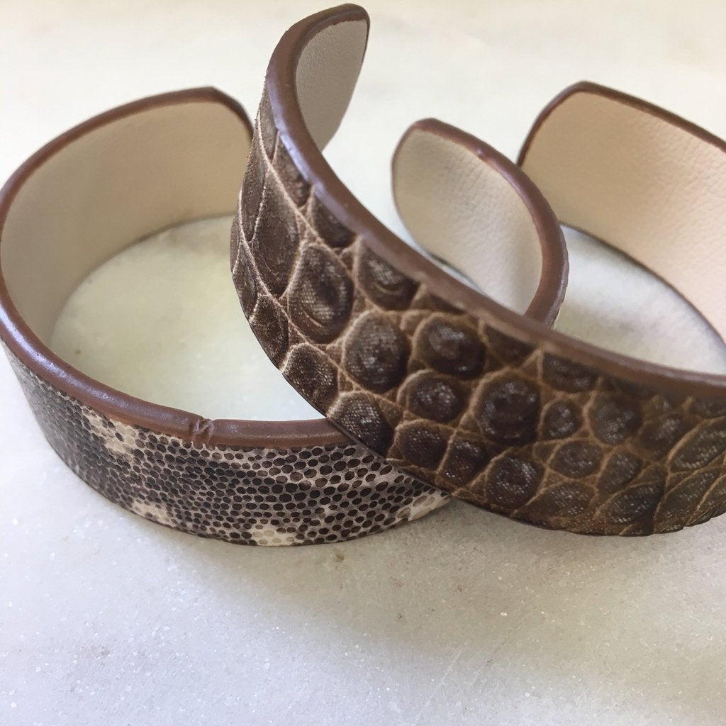 Italian Leather Adjustable Cuff - pretty-simple-2