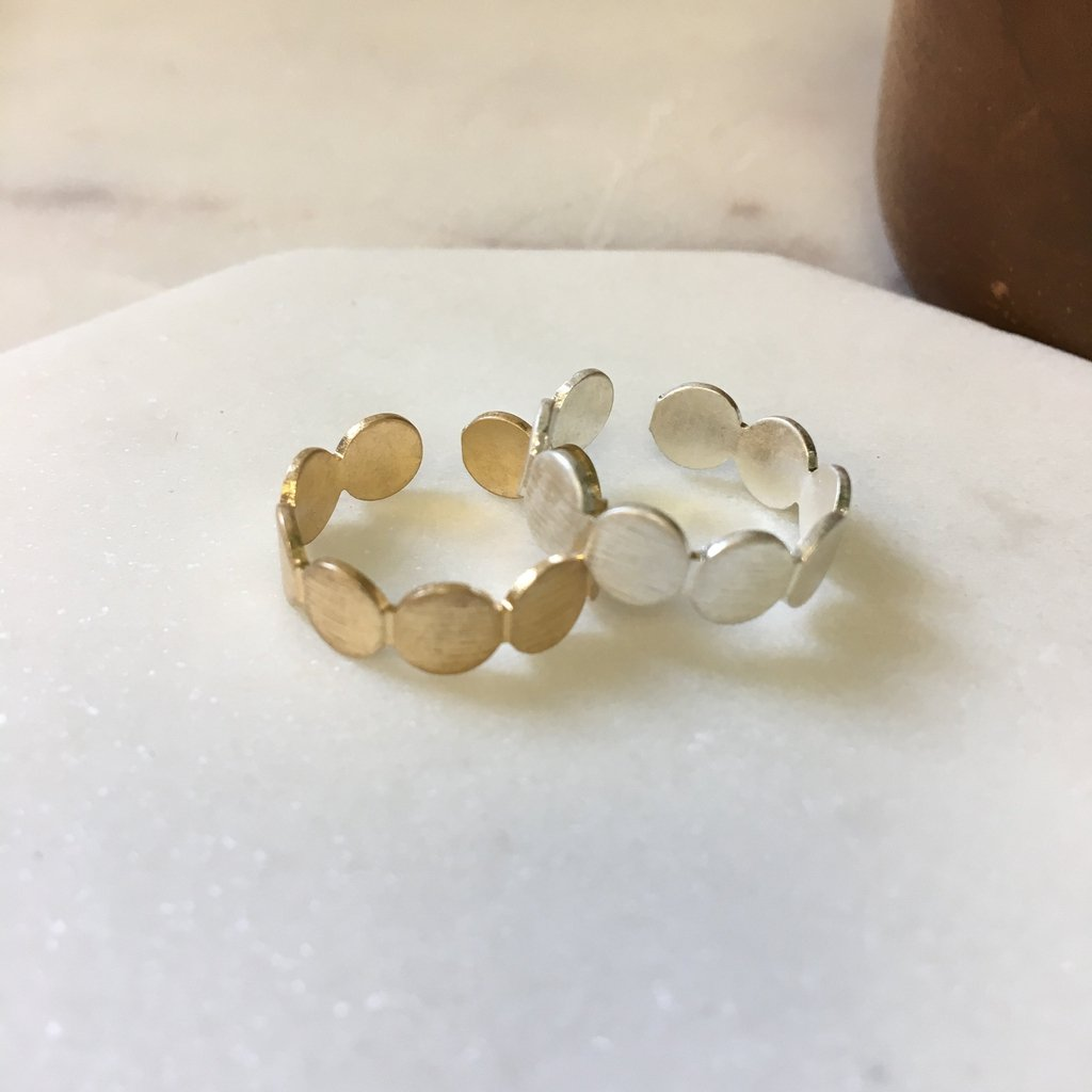 Flat Round Cuff Ring - pretty-simple-2