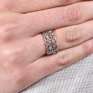 Filigree Crystal Ring - pretty-simple-2