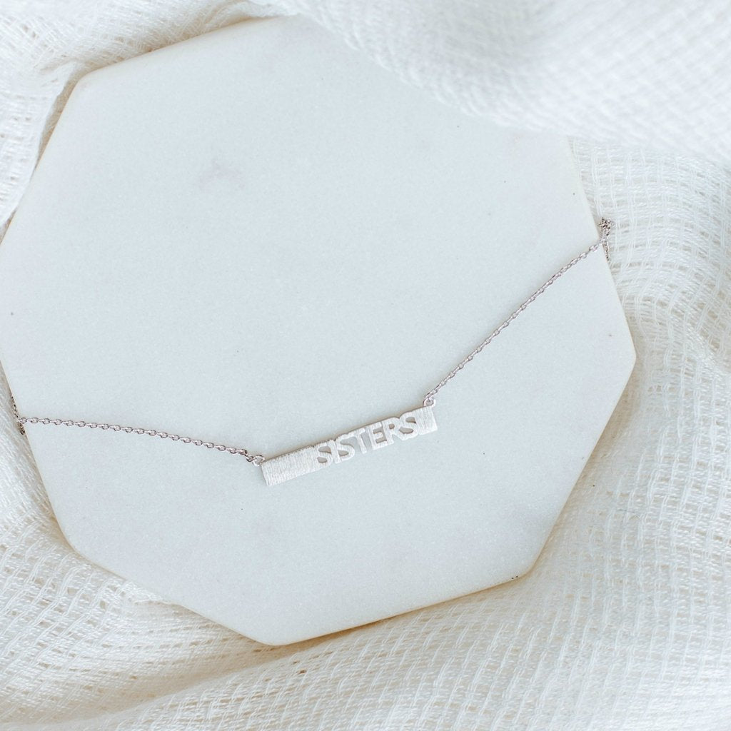 Sisters Necklace-Wholesale-Pretty-Simple
