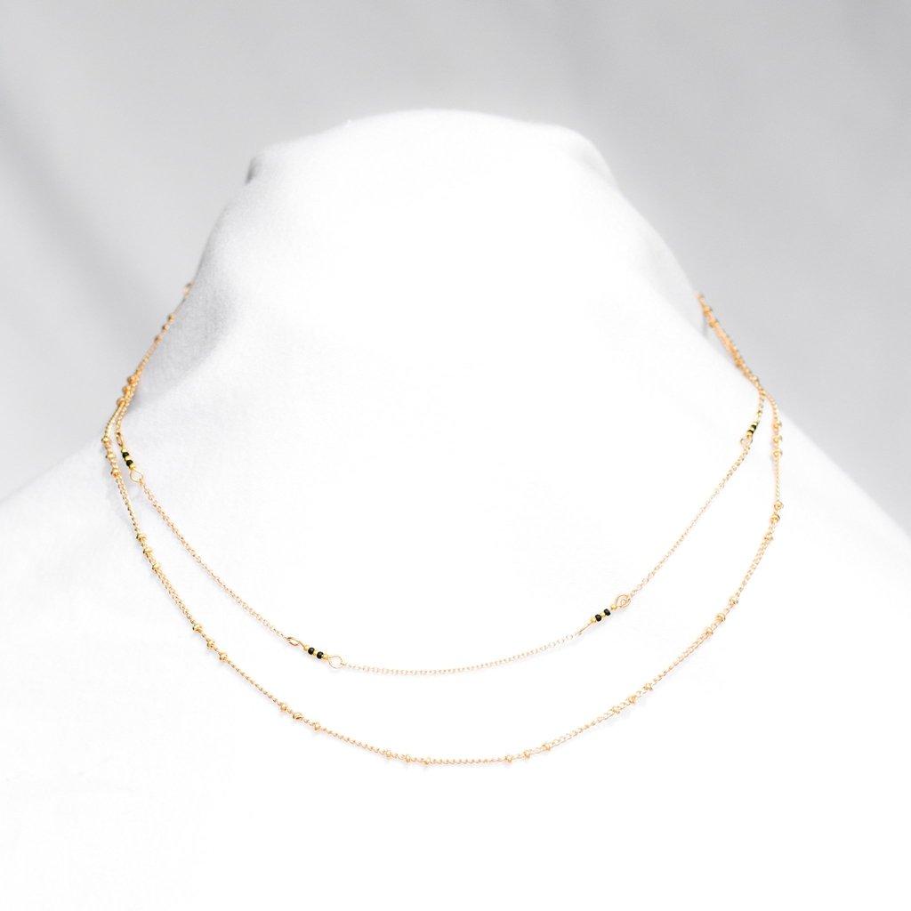 Delicate Delilah Layered Necklace-Wholesale-Pretty-Simple