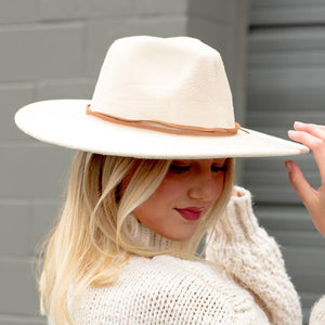 The Hannah Hat-Wholesale-Cream-Pretty-Simple