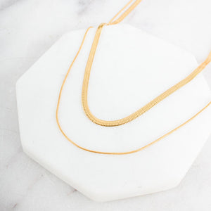 Brooklyn Layered Chain Necklace