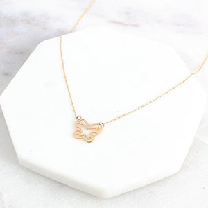 Sutton Butterfly Necklace