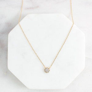 Hudson Halo Necklace