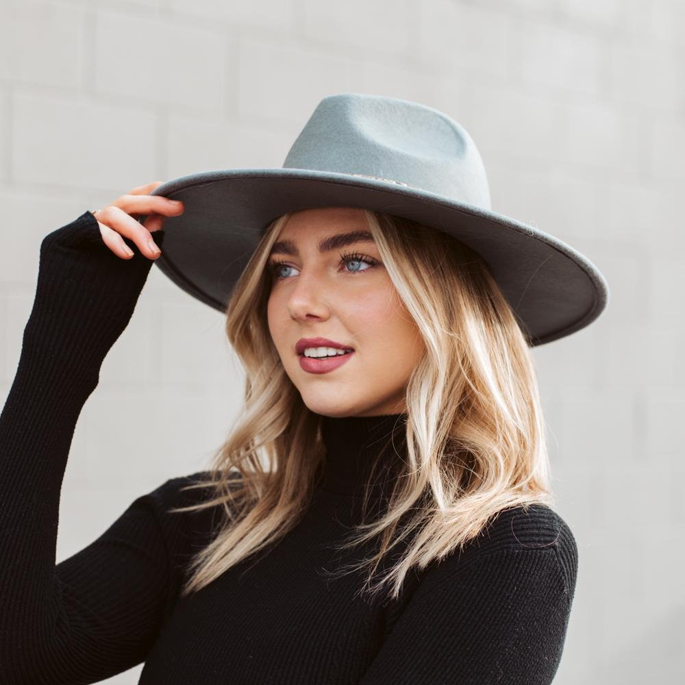 Ellie Wide Brim Fedora