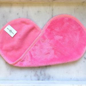 Microfiber Make-Up Remover Cloth-Wholesale-Pink-Pretty-Simple