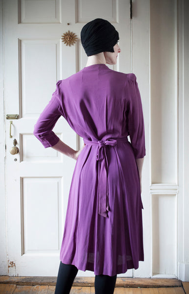 1940s New York Creation Dress