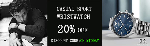 20 off discount for All  Casual Sport Watches