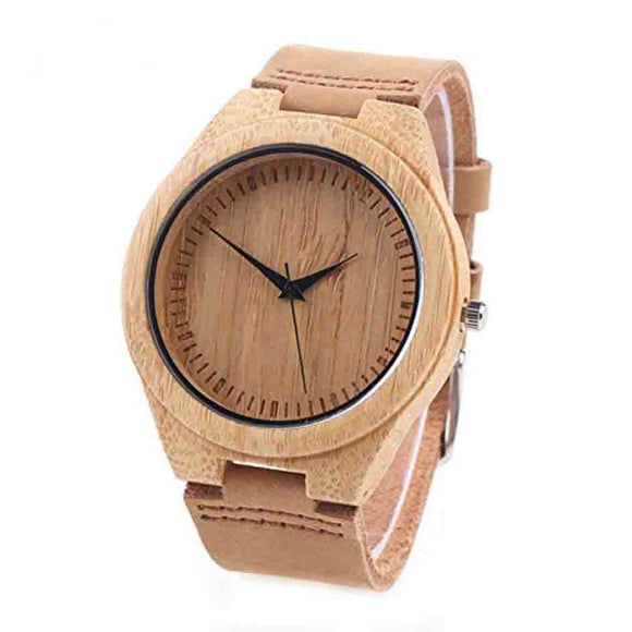 Luxury Wooden & Bamboo Watches