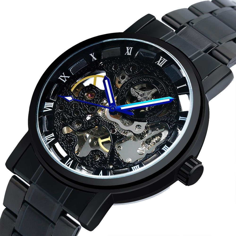 Exposure Dual Time Skeleton Watch