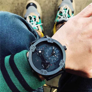 Featuring 3 time zones, The Weide Time Traveler Watch-Watch Outfitters