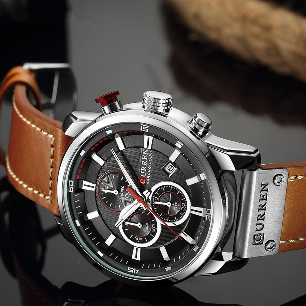 Luxury Chronograph Quartz Watch