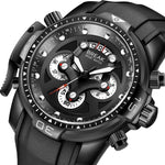 Load image into Gallery viewer, BREAK Chronograph Army Waterproof Men's Quartz Watches, Unique Fashion and Sport Watches-Watch Outfitters