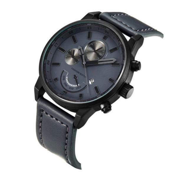 Curren Luxury Top Brand Men's Sports Watches Fashion Casual Military Wrist Watch Grey-Watch Outfitters