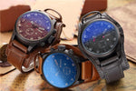 Load image into Gallery viewer, Men's Top Luxury Army Military Leather Steampunk Sports Quartz Watch