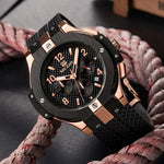 Load image into Gallery viewer, MONTRE HOMME GRAND CADRAN SPORT OR ROSE WATCH-Watch Outfitters