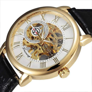 Men Skeleton Watch