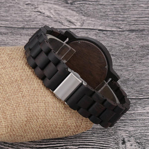Wooden Watches for Men/Women Slim Analog Quartz Minimalist Couple Wrist Watch-Watch Outfitters