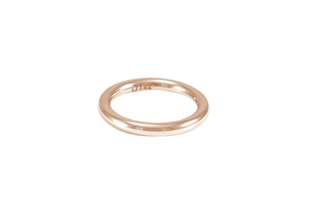ALLIANCE OR BLANC 14K - EPURE HOMME